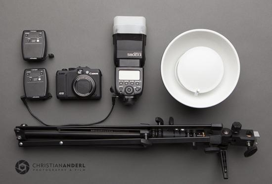 Canon G15 Portrait Setup